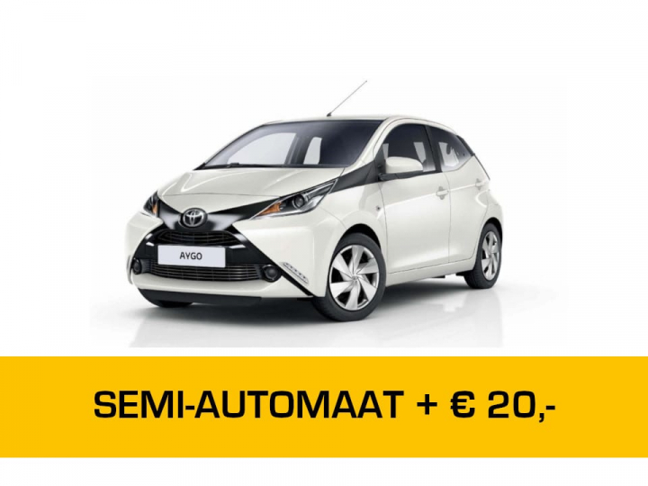 Toyota Aygo Automaat Private Lease