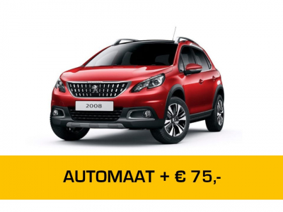 Peugeot 2008 Automaat Private Lease