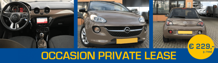 Occasion Private Lease Of Een Nieuwe Auto Kopen Almn Private Lease