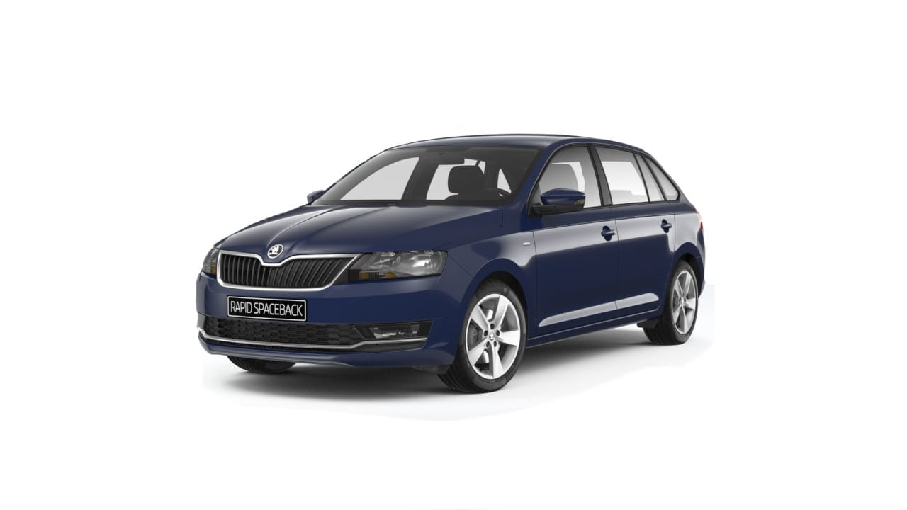 skoda rapid private lease voor slechts 335 almn. Black Bedroom Furniture Sets. Home Design Ideas