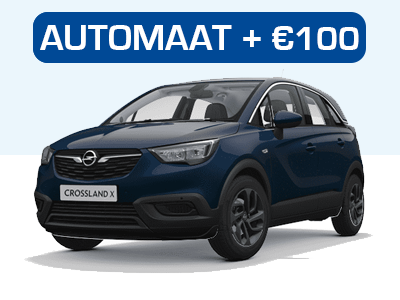 Opel Crossland Automaat private lease
