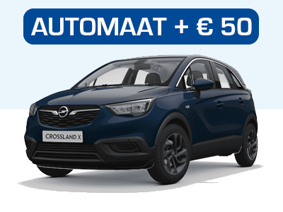 Opel Crossland X Private Lease