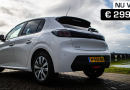 PEUGEOT 208 actie private lease