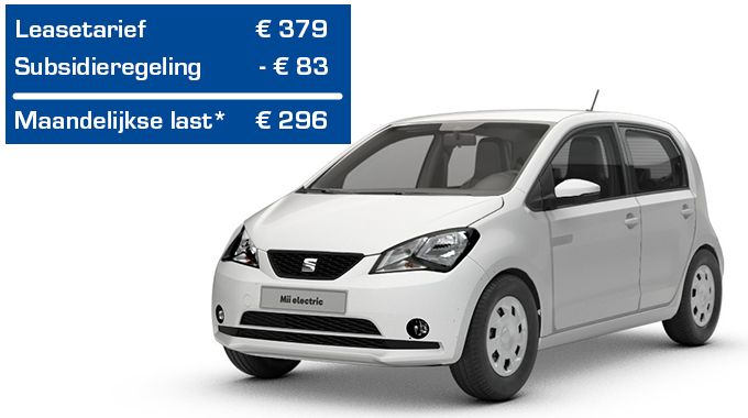 Private lease SEAT Mii electric