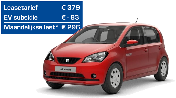 SEAT Mii electric private lease