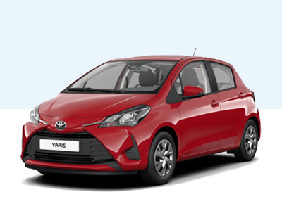 Toyota Yaris Comfort private lease