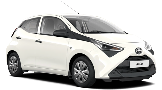 Toyota Aygo Cool White private lease