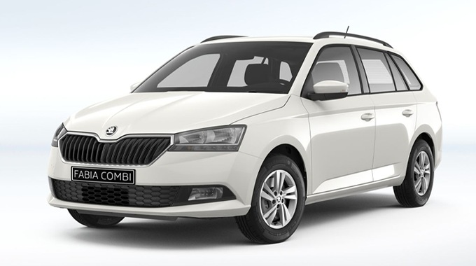 FABIA COMBI Ambition private lease voorkant