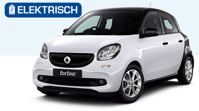 Smart forfour electric private lease